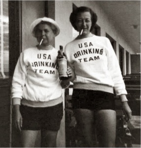 The USA Drinking Team, ca. 1960s