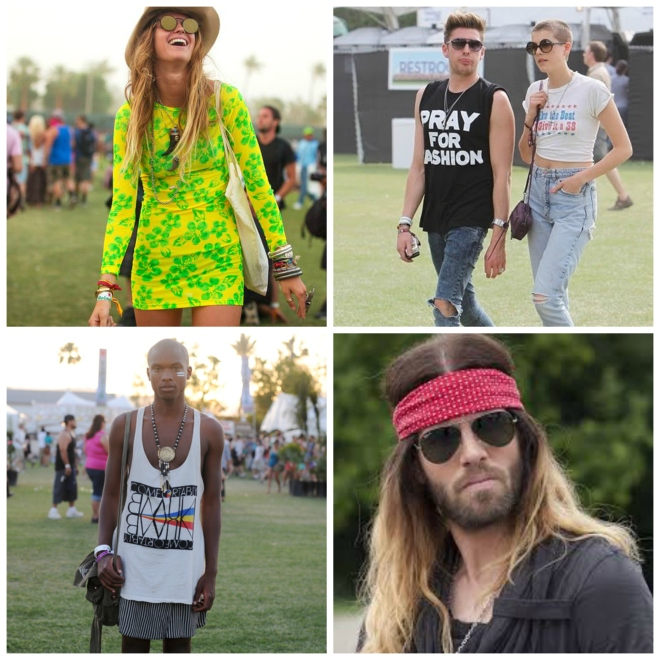 Coachella collage
