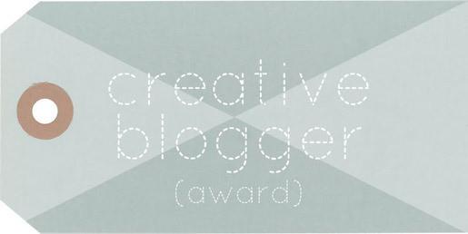 The Creative BloggerAward!