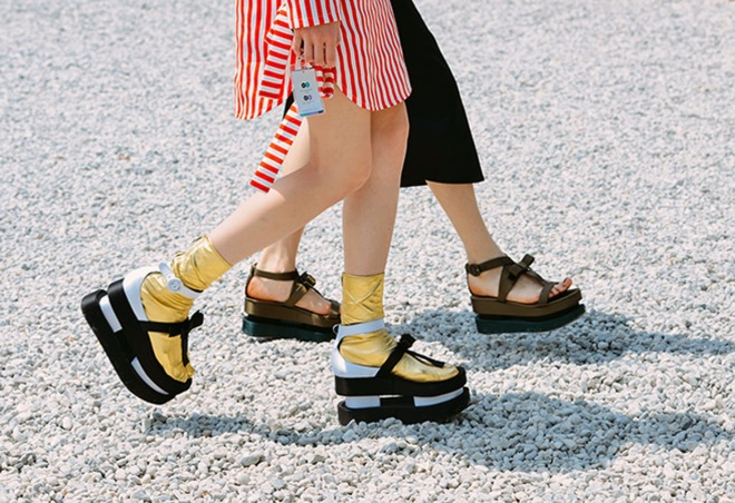 Tommy Ton Flatforms Street Style Style Domination
