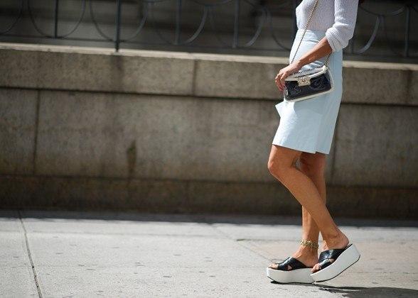 Flatform Sandal Street Style Style Domination