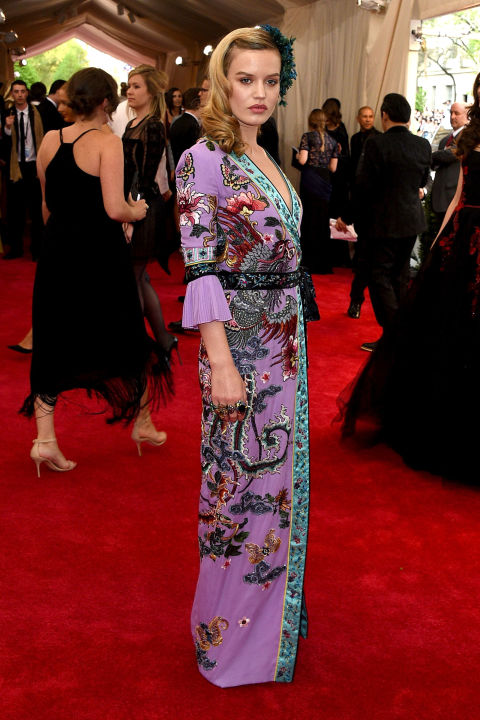 Georgia May Jagger Gucci Met Gala 2015