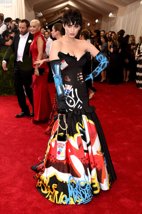 Katy Perry Moschino Met Gala 2015  NYC
