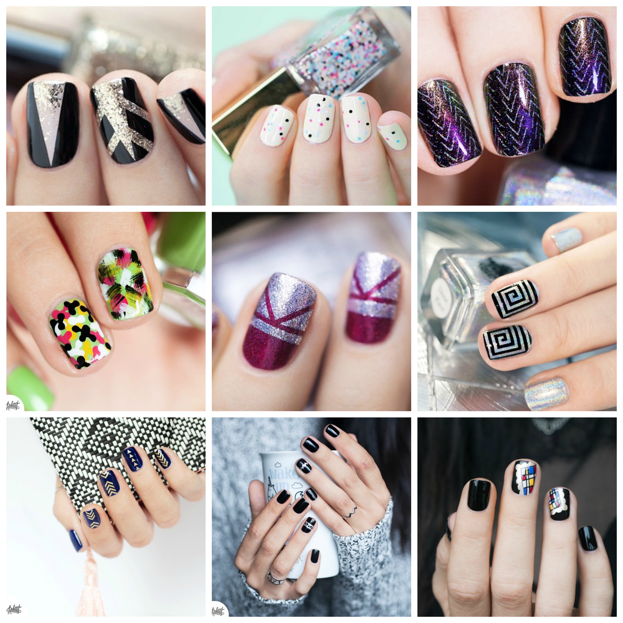 Nail Art Pshiiit Nail Polish Manicure Pedicure OOTD Style Dominiation
