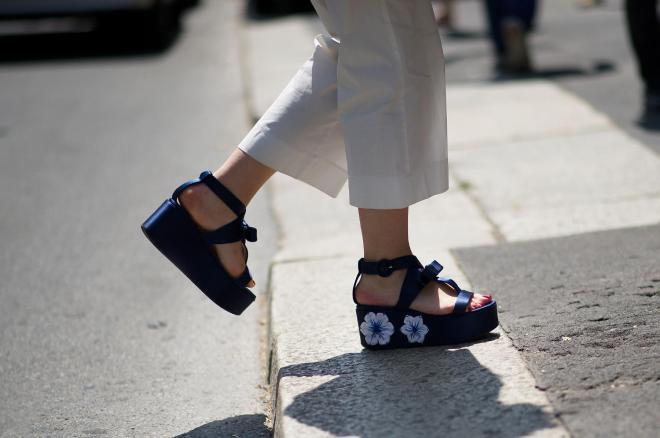 Floral Flatform Sandals Style Domination