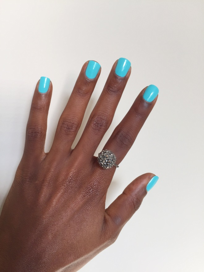 Nails Inc. Queens Gardens Gel Polish UV Light Style Domination Nail Polish Beauty Review