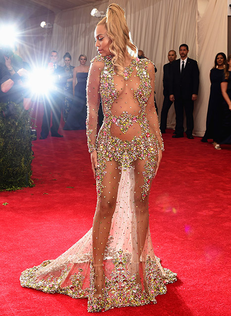 Beyoncé Givenchy Met Gala 2015