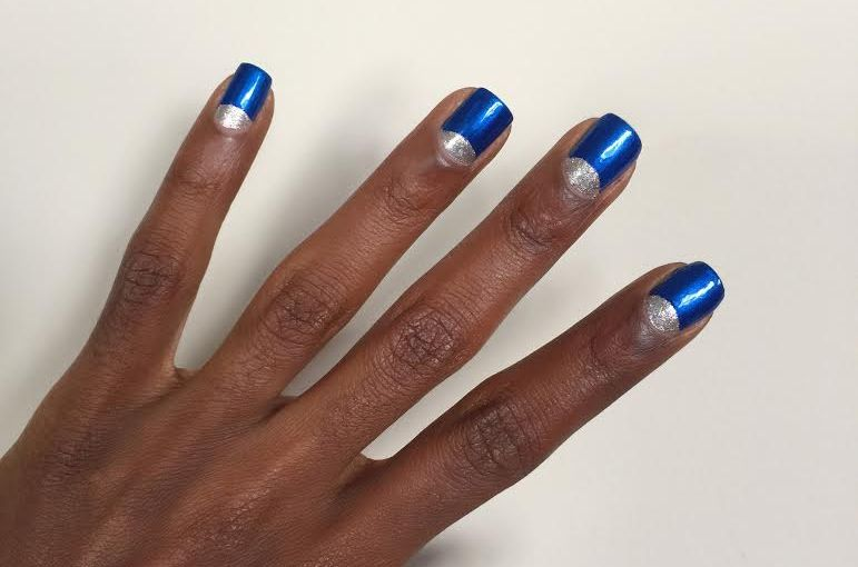 Style Domination Tutorial: The Half-MoonManicure
