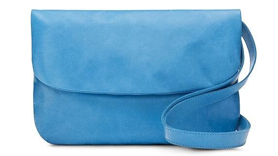 m0851 Boutique Ottawa Sussex Drive Leather Goods Designer Montreal Style Domination Azure Clutch