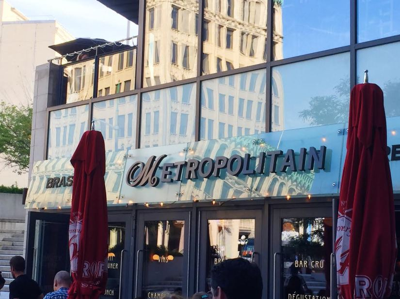 Style Domination Restaurant Review:  Metropolitain Brasserie Restaurant