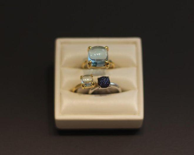 Tiffany & Co Rideau Centre Ottawa Canada Style Domination Diamonds aloma Picasso Sugar Stack Rings Aquamarine Sapphire
