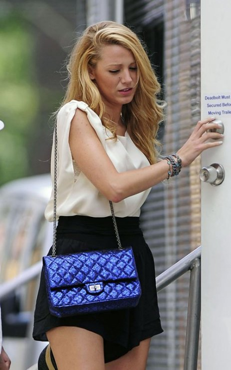 Lambskin Chanel Bag Style Domination Resale Market Coco Chanel Designer Handbag Blake Lively Gossip Girl