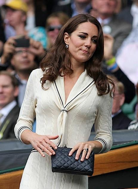 Lambskin Chanel Bag Style Domination Resale Market Coco Chanel Designer Handbag Kate Middleton Princess Kate