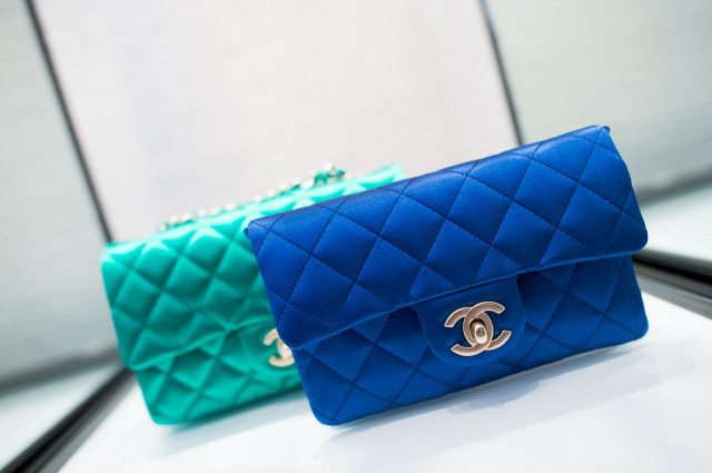 Lambskin Chanel Bag Style Domination Resale Market Coco Chanel Designer Handbag Satin