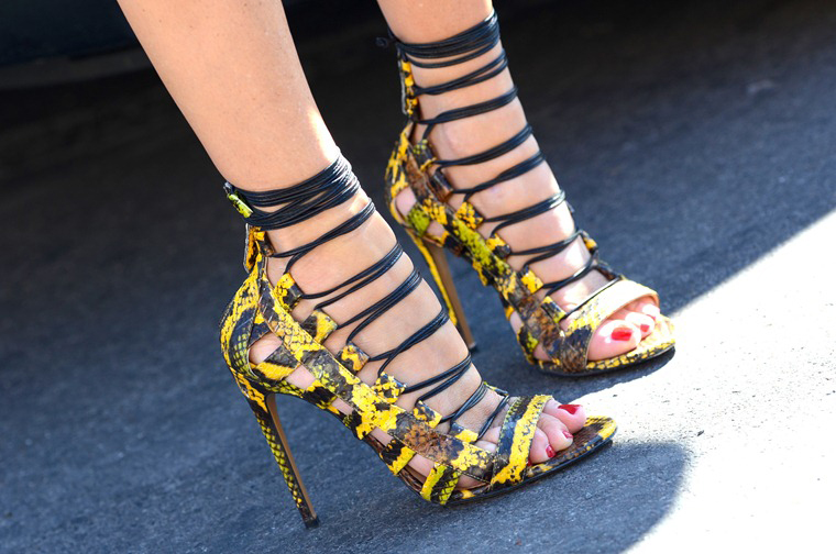 Jimmy Choo Sandals Street Style Paris Fashion Week Style Domination Fashion Blogger STyle Blog