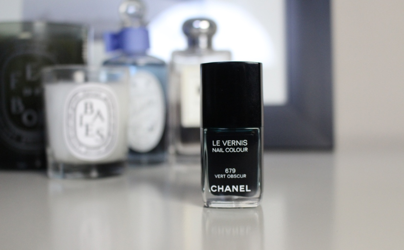 SD Beauty Review: Chanel Le Vernis Vert Obscur Nail Polish