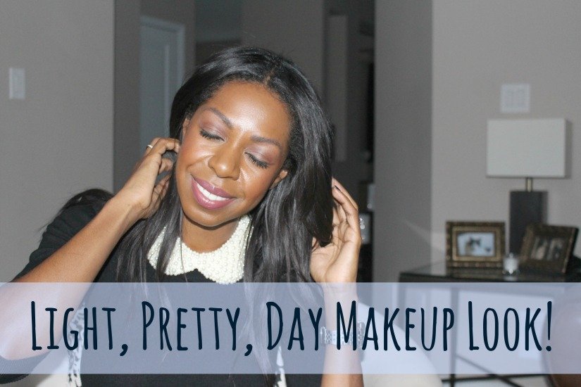 Light, Pretty, Day Makeup Look + GIVEAWAY reminder!