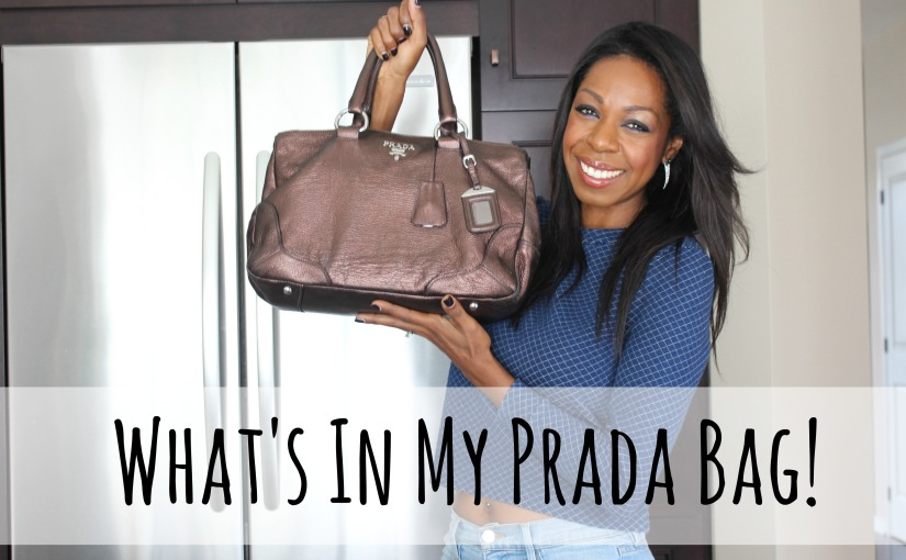 What's In My Prada Bag!