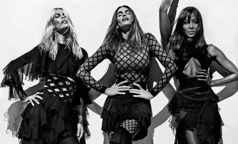 Balmain Killing It With Newest Campaign Featuring 90s Supermodels