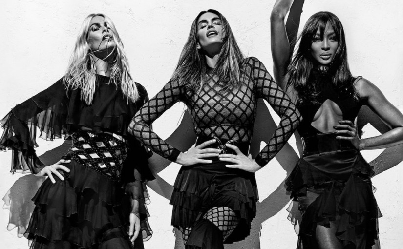 Balmain Killing It With Newest Campaign Featuring 90sSupermodels