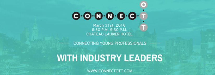ConnectOtt Dinner and Networking Event – March 31,2016