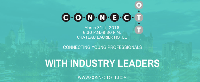 ConnectOtt Dinner and Networking Event – March 31, 2016