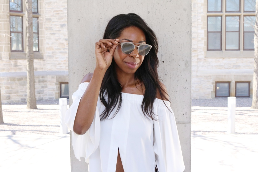 A Dose Of Off-The-Shoulder Glam
