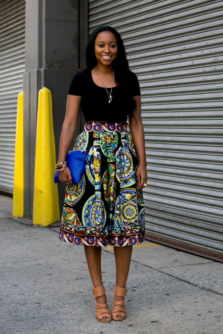 Dressing Up The Work Wardrobe With Skirts | www.styledomination.com